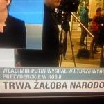 Putina wybrali - w Polsce żałoba [kontekst]