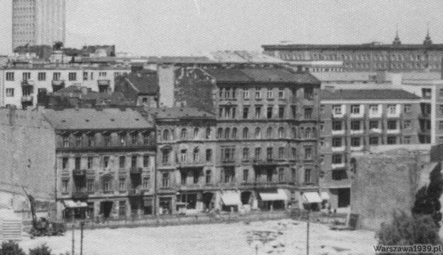 Kamienice przy ul. Chmielnej 34-36